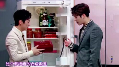 何炅的 冰箱 首次公开:谢娜送辣椒酱和咸菜,李湘送海参冬虫夏草!