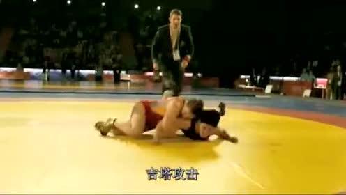 <B>摔跤</B><B>吧</B><B>爸爸</B> 感人镜头